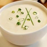 Холодный суп-пюре с рисом