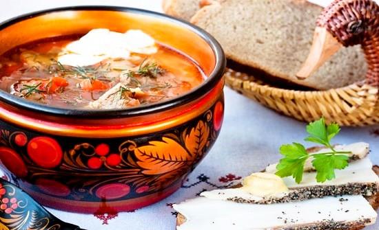 Ледяной суп ботвинья