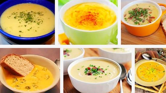 Сырные супы