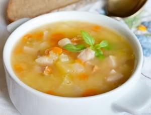 Шведский гороховый суп с окороком