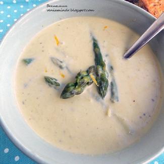 Холодный спаржевый суп