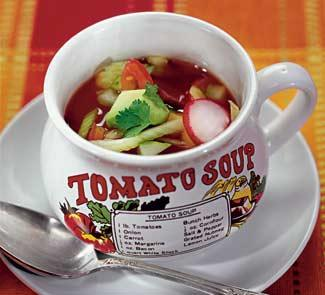 Калифорнийский холодный суп