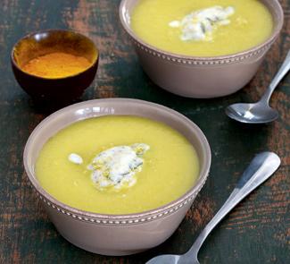Яблочный суп с карри
