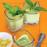 Йогуртовый суп с авокадо